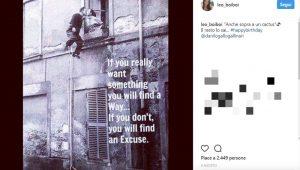 Eleonora Boi su instagram per Gallinari