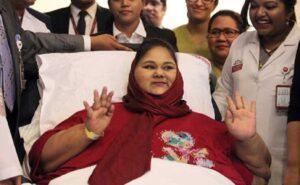 Eman Ahmed, morta la donna più grassa del mondo: era ricoverata ad Abu Dhabi