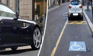 Guido M., l'uomo in Ferrari che insulta i disabili: casa in Lussemburgo e porto d'armi