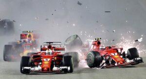 F1 Gp Singapore: Hamilton vince, Vettel a -28. Ferrari ko alla partenza, tutti contro Verstappen