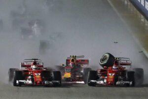 """F1, Max Verstappen: """"Vettel si doveva scusare dopo l'incidente a Singapore"""""""