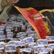 """Genoa, protesta tifosi con striscioni: """"Enrico Preziosi vattene"""""""