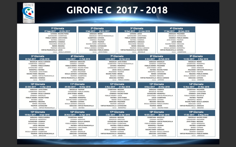 Girone C Serie C: classifica, risultati e calendario