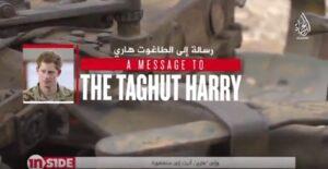"""Principe Harry minacciato dall'Isis: """"Sei abbastanza uomo da venire a combatterci?"""""""