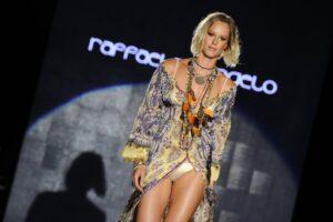 Federica Pellegrini in bikini a Milano per la settimana della moda FOTO