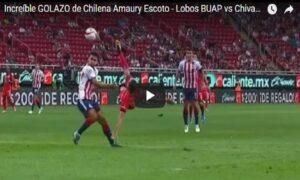 YOUTUBE Messico, gol in rovesciata dal limite dell'area
