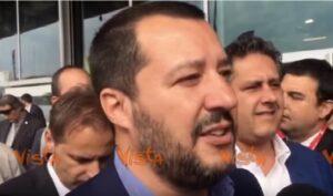 """Salvini: """"La batosta della Merkel è una ventata di libertà e democrazia"""""""