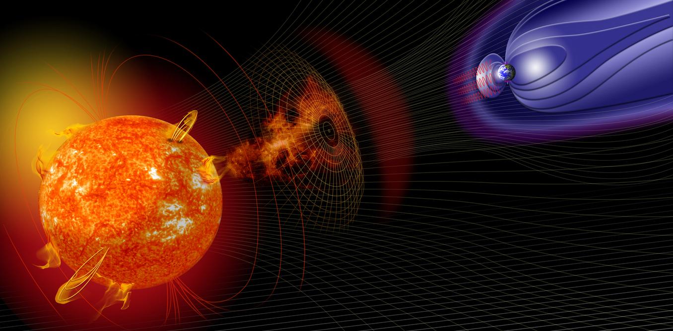 Tempesta magnetica sulla Terra: aurore e rischio di blackout per reti elettriche e telecomunicazioni