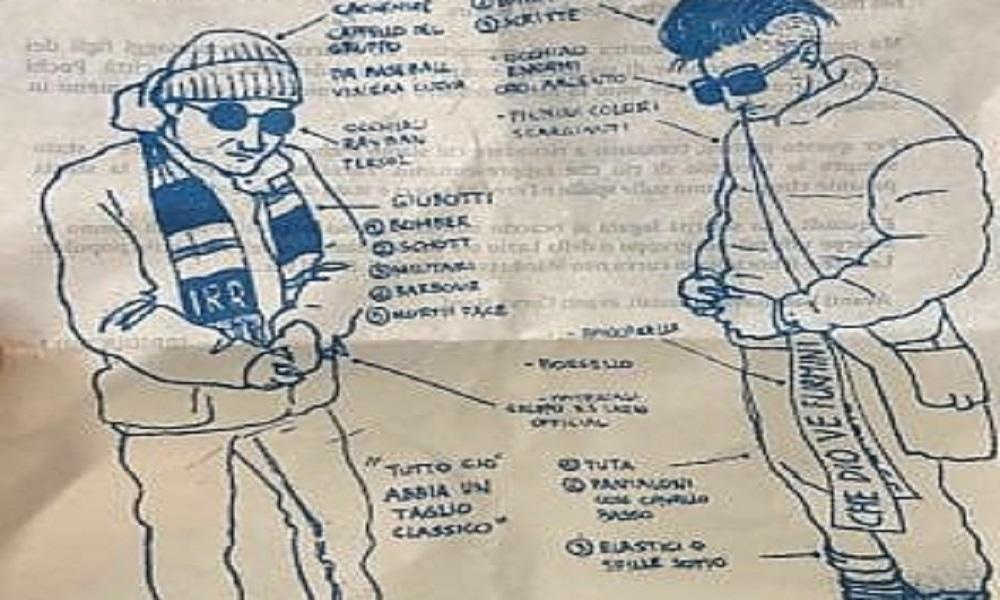"""Lazio, il dress code degli """"Irriducibili"""": Ray-Ban e bomber"""