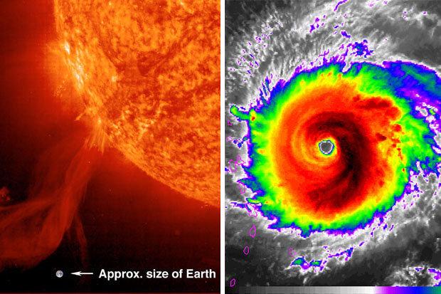 Uragano Irma e tempeste solari: satelliti a rischio danneggiamento?