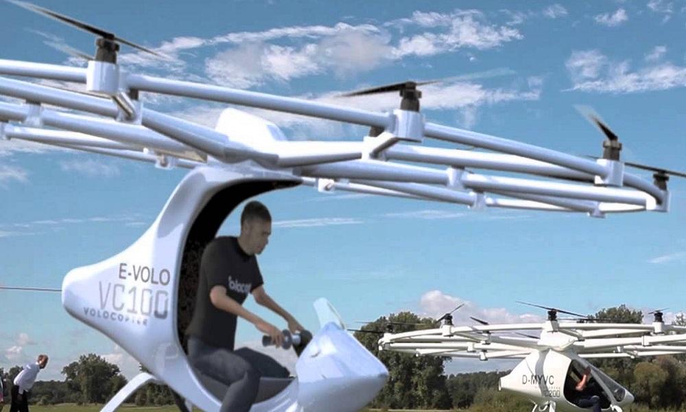 Volocopter, a Dubai il taxi volante elettrico a guida autonoma