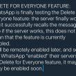 WhatsApp, presto potremo cancellare i messaggi inviati per sbaglio01