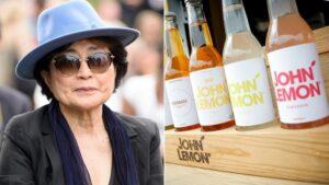"""Yoko Ono blocca la vendita della limonata """"John Lemon"""""""