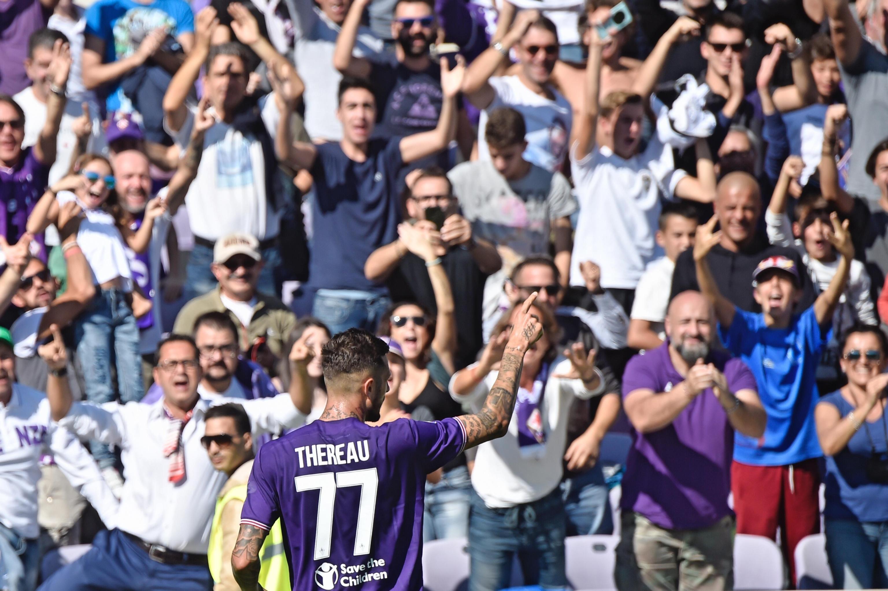 Fiorentina - Udinese, il lunch match dell'ottava giornata di Serie A, nelle foto Ansa