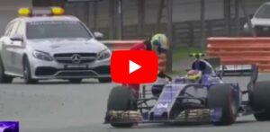 YOUTUBE Incidente Vettel-Stroll: Ferrari distrutta dopo Gp Malesia