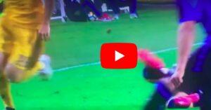 YOUTUBE, Mandzukic video gol Atalanta-Juventus annullato con VAR