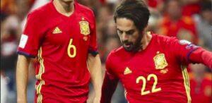 Spagna ai Mondiali, Isco stende l'Albania di Panucci