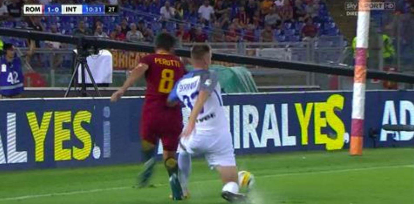 """Var, Rizzoli: """"Rigore su Perotti in Roma-Inter fu errore di comunicazione"""""""