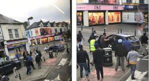 Rapinano gioielleria: passanti assaltano l'auto della fuga col machete
