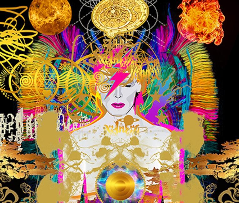 Tarocchi in mostra a Torino con le opere di Niki de Saint Phalle. C'è anche David Bowie