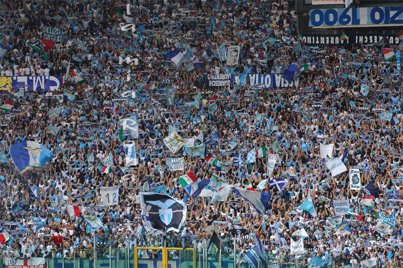 Lazio, cori razzisti: chiusa la curva Nord per un turno