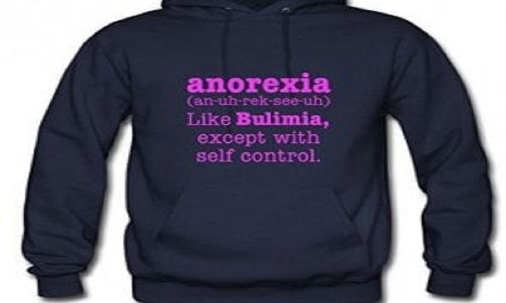 Su Amazon la felpa con lo slogan sull'anoressia FOTO