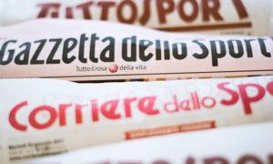 Sport, la rassegna stampa dei principali quotidiani del 3 ottobre