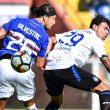 Sampdoria - Atalanta highlights pagelle video gol: Critante, Zapata e Caprari (foto Ansa)