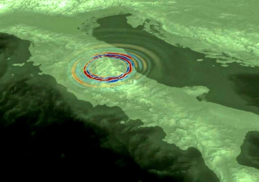 Ferro e arsenico nell'acqua avvisano dei terremoti? Il caso Amatrice