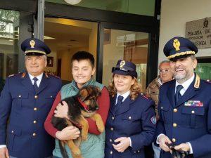 cucciolo-cane-polizia-cosenza