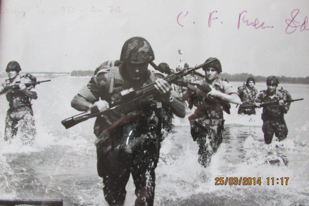 Servizio militare FOTO Battaglione San Marco, sbarco a Capo Teulada
