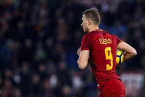 """Calciomercato Roma, Monchi: """"Dzeko? Le offerte arrivate non sono interessanti"""""""