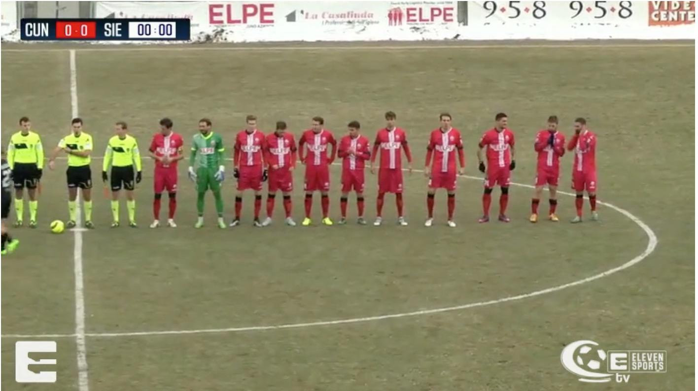 Cuneo-Giana Erminio Sportube: diretta live streaming, ecco come vedere la partita