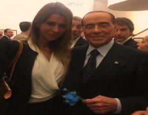 Matilde Siracusano e Silvio Berlusconi (foto Ansa)