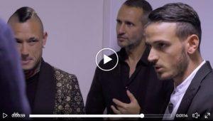 Radja Nainggolan e Alessandro Florenzi a C'è posta per te: VIDEO commovente