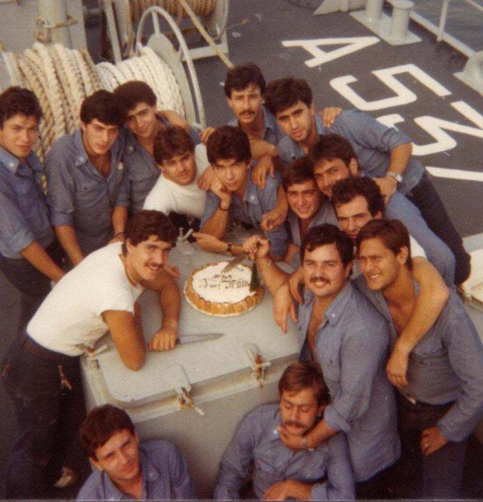 Servizio militare, equipaggio Nave Tanaro