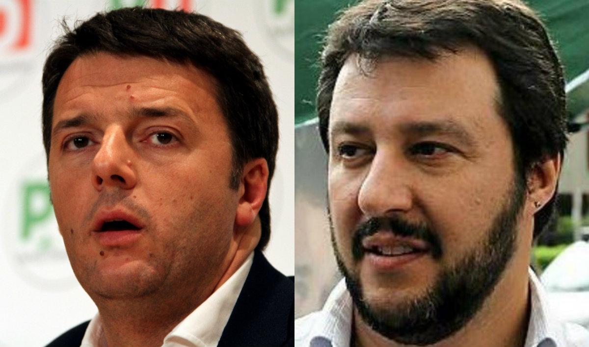 Il seggio dato a Bossi fa apparire Salvini più umano di Renzi