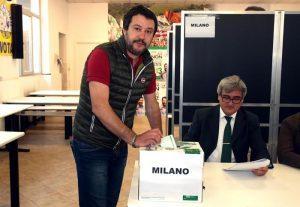 Salvini difende il fascismo dopo le parole del presidente Mattarella
