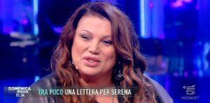 """Serena Grandi a """"Domenica Live"""""""