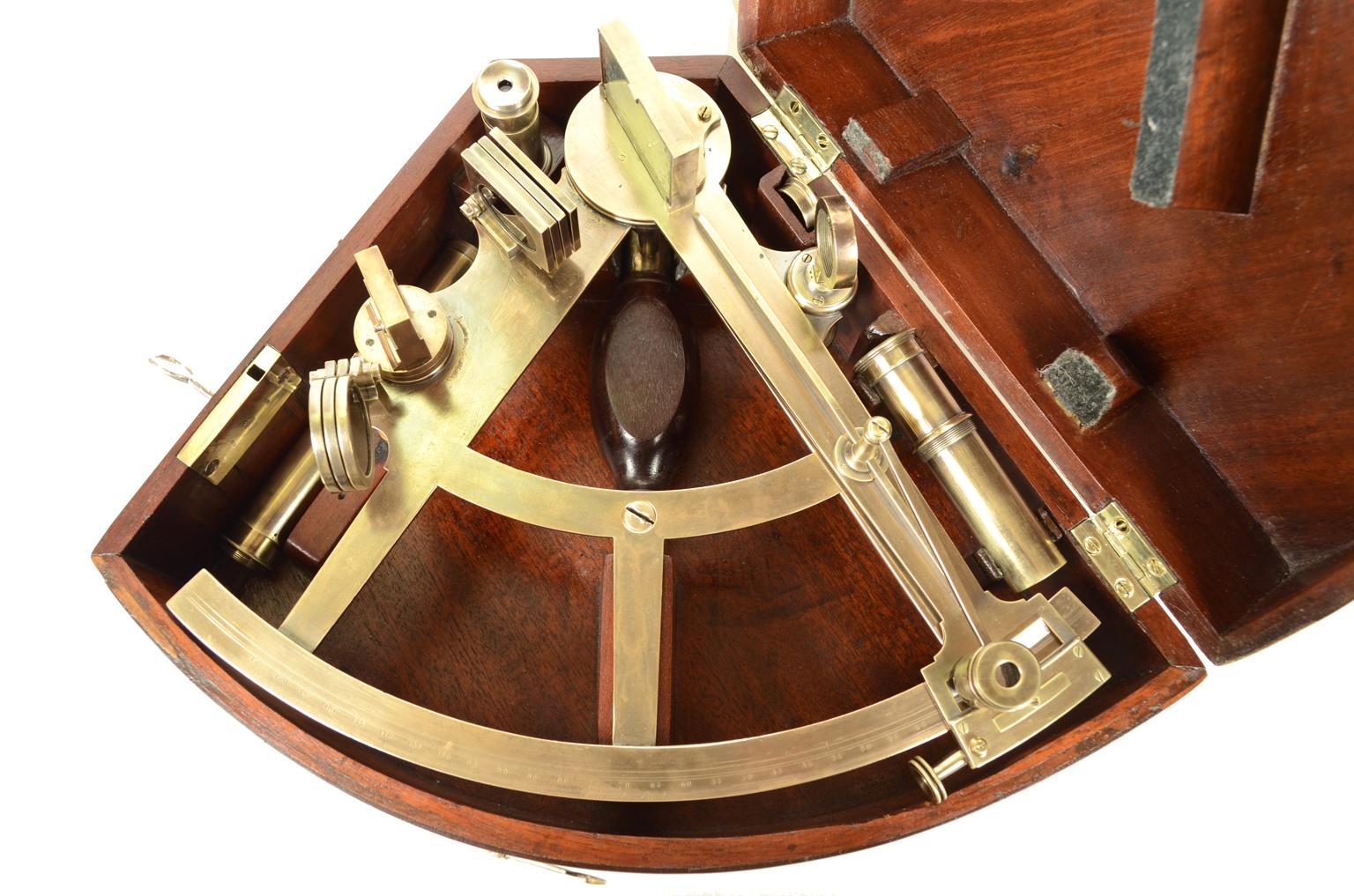 Storia del sestante, strumento ottico che h spostato i confini del mondo