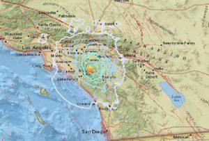 Terremoto California, due scosse tra Los Angeles e San Diego: paura nella notte