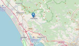 Terremoto Camaiore, scossa del 2.1 avvertita dai cittadini: paura nelle scuole