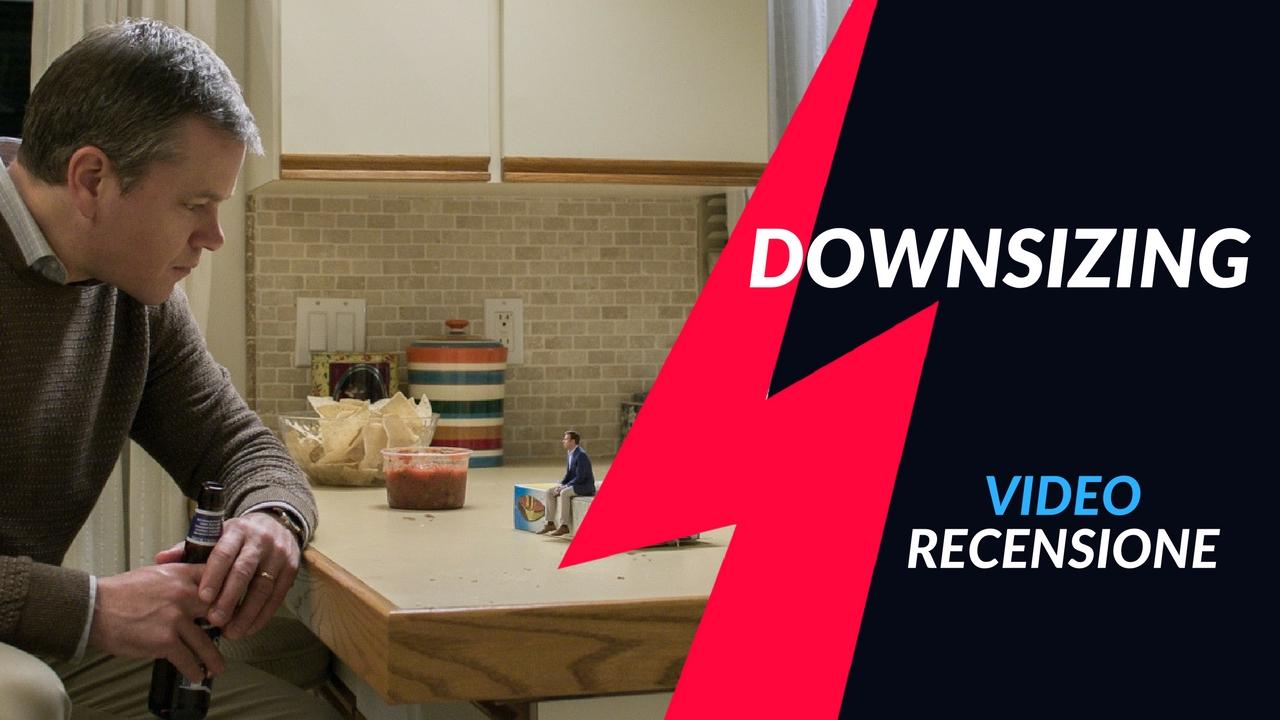 YOUTUBE Video Recensione: Downsizing. Umani rimpiccioliti, spettacolo (poco) garantito