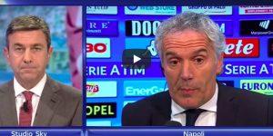 """YOUTUBE Roberto Donadoni attacca Alessandro Costacurta: """"E' da pazzi dire che non c'era il rigore"""""""