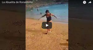YOUTUBE La nonna di Ronaldinho spopola sul web: che numeri per la settantenne