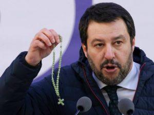 Matteo Salvini rosario giuramento