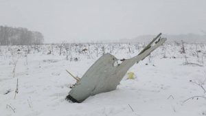 Aereo precipitato in Russia