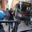 Bologna, incidenti polizia 16 febbraio