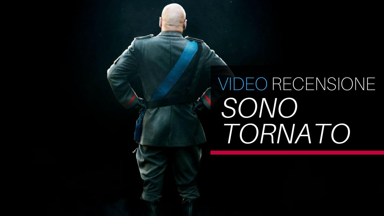 YOUTUBE Video Recensione: Sono tornato. Mussolini oggi, qualche risata, poca satira