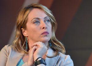 Giorgia Meloni (foto Ansa)